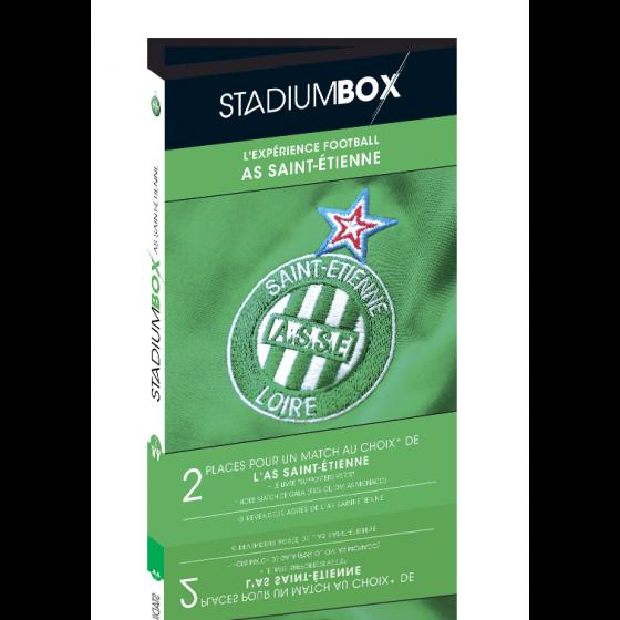 box cadeau match foot as saint etienne stadiumbox football. Black Bedroom Furniture Sets. Home Design Ideas