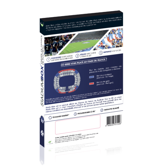 StadiumBox Equipe de France de Football