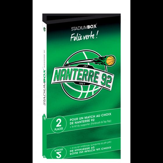 Coffret cadeau Nanterre 92 basket