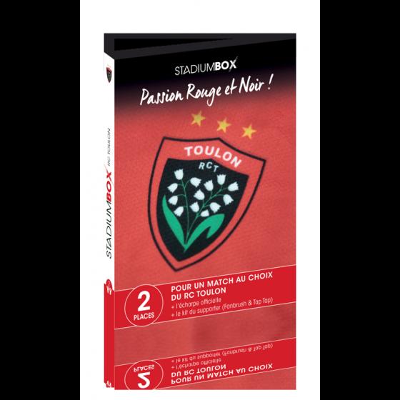 Coffret cadeau RC Toulon