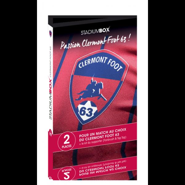 Coffret cadeau Clermont Foot