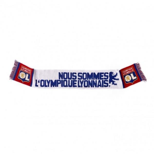 Echarpe OL Nous sommes l'Olympique Lyonnais
