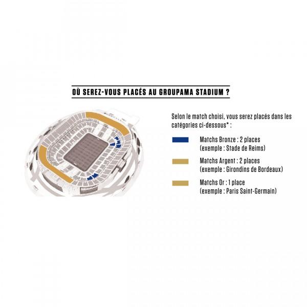Parc OL groupama stadium