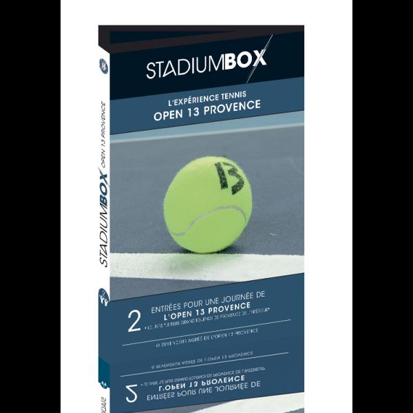 Cadeau tennis : Billet Open 13 Marseille